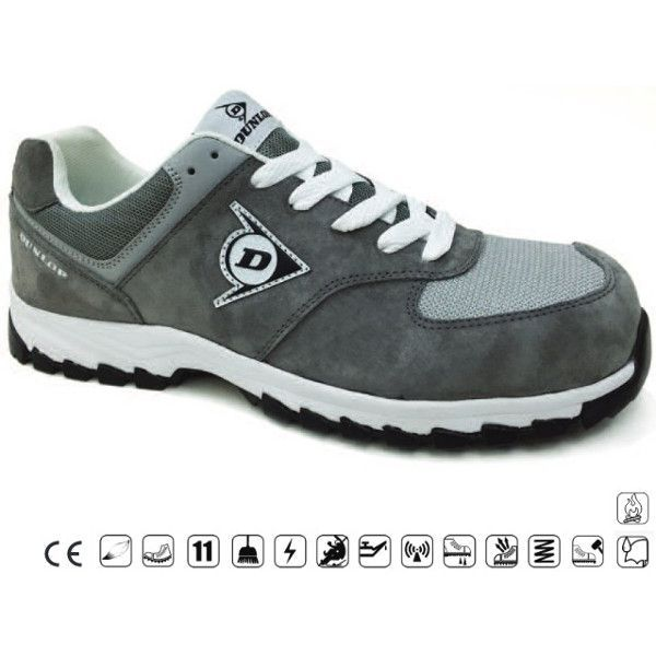 ZAPATO SEGUR.DUNLOP FLYING CHARCOAL
